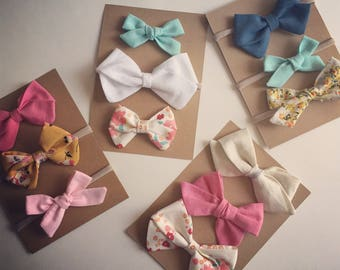 Set of 3 Bows |your choice|