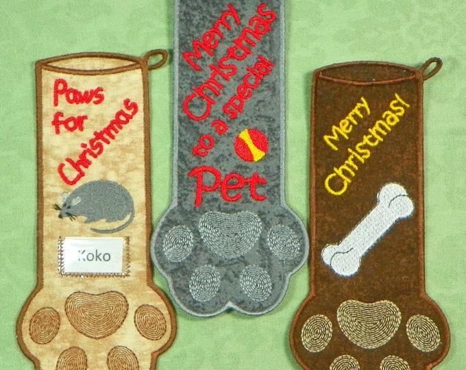 In-The-FSA Hoop Pet Stockings for 6x10 hoop