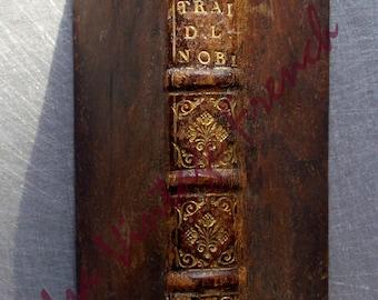 Traite de la noblesse Provence 1688 livre ancien  Rare antique book 1688 Treaty of Nobility french noblemen in Provence