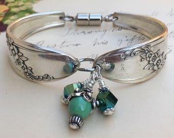 Jewelry, Bracelet, ~QUEEN BESS II~ 1946       Spoon Bracelet