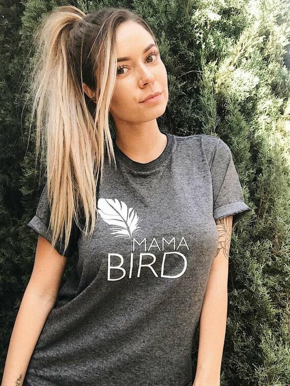 MAMA BIRD, Acid Wash, Mama Bird Tee, Mama Bird Tshirt, Mama Bird Tshirts, Mom Tee, Mama Bird Shirt, Mama Bird Tshirt, Mama Bird Tee