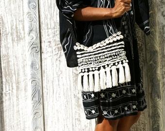 Crochet bags/Crotchet Purse/ Cross body bag/Boho Purse/Hippie Crotchet bags * LUANDA PURSE