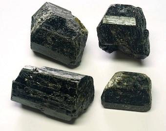 Tourmaline Crystals 1/2 Lb Lots Natural Black Schorl Gemstone Quality
