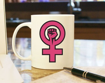 Women's March on Washington, Coffee Mug, Cup, Gift, Present, Woman, Female, Trump, Souvenir, Protest, Resist, Woman Power, Women's Rights