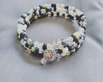 Twinkle Twilight - Moonlight Coil Bracelet