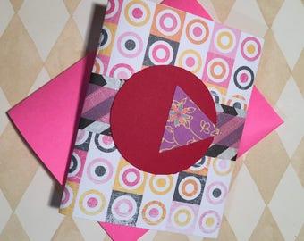 Livre de présentation de carte-cadeau avec enveloppe - titulaire de la carte cadeau carnet de notes - Grad cadeau - mères - anniversaire