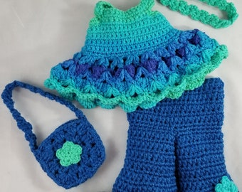 Petey's Retro Outfit Crochet Pattern