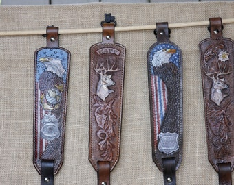 Custom Leather Rifle Slings