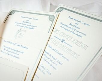 Art Deco Wedding Invitation (Digital File)
