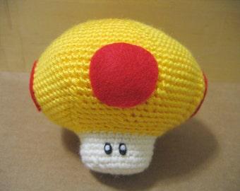 Golden Mega Mushroom