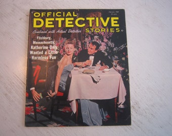Official Detective Stories February 1964 - high grade