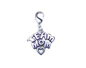 TEAM MOM! Charm..... Cheerleading/Baseball/Basketball/Swimming/Track/Football