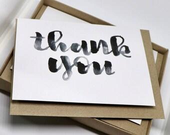 Thank You Card Pack / 10 Thank You Cards / 10  Thank You Cards / Multipack Thank You / Pack of Cards / Thank You Card Set