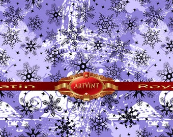 Christmas grunge Violet  Wrapping Paper, Camo Pattern, Gift Wrap Great For Any Occasion. Made In USA