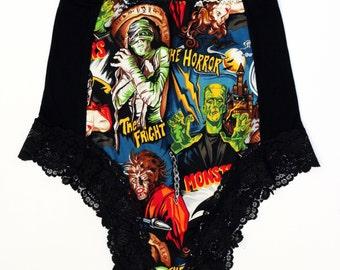 Horror Film! high waisted panties