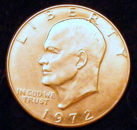 1972-D EISENHOWER DOLLAR . . Great Investment . .