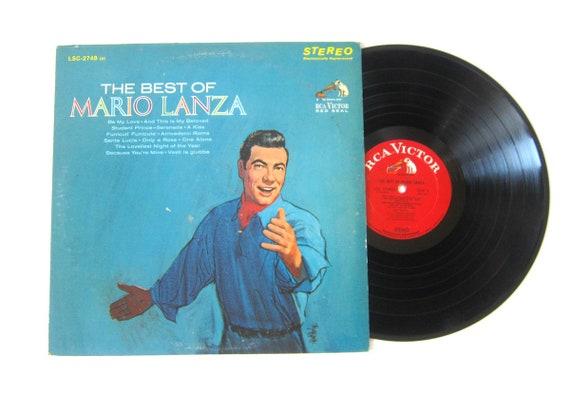The Best of Mario Lanza Vinyl Record Album 12 Inch LP Vintage Music RCA Victor Record Album