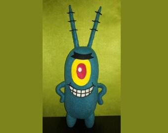 Plankton Spongebob Soft toy