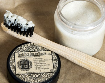 Toothpaste mouth bath fuchia: Birch sugar and Peppermint
