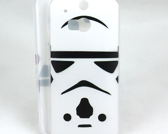 Stormtrooper inspired case for HTC One M8/M9 - Star Wars storm trooper
