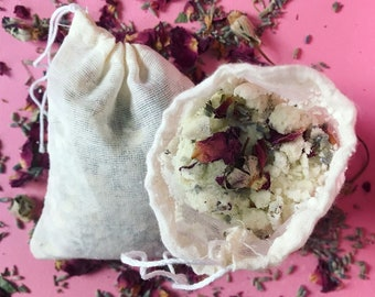 Lavender rose milk bath