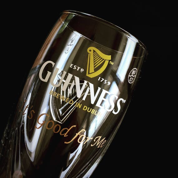 Guinness Glass Engraving, Engraved Guinness Glass, Beer glass engraving, Engraved Glass, Irish Beer glass, St Patrick Day Etched