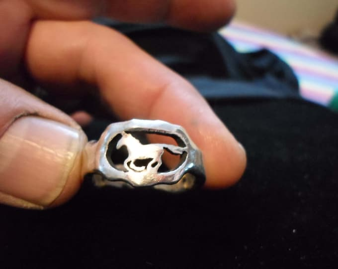 melted horse ring