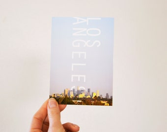 Los Angeles Postcard - glossy