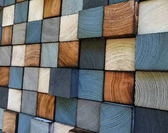 Wall Art - Mosaic - Wood Decor