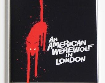 An American Werewolf in London Movie Poster Fridge Magnet