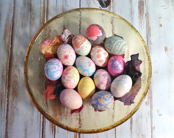 Easter Egg Silk Dye Kit- Eco Friendly Up-cycled kid friendly DIY Gift
