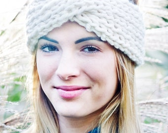 Knitting Pattern - Turban Twist Headband // Wild One