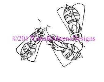 Digi Stamp Sketchy Bundle #2