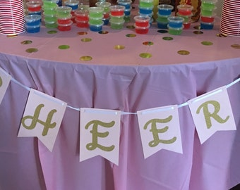 Cheers Drink Table Banner