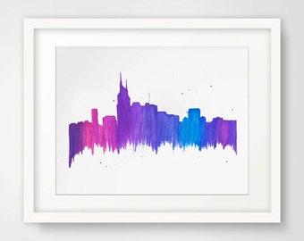 Nashville Skyline--Print
