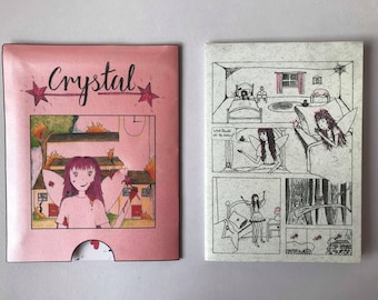 CRYSTAL, psycho fairy comic.
