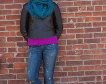 Knitting Pattern Cowl - Easy Intermediate