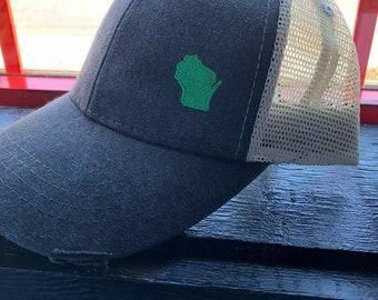 Wisconsin trucker hats - 2 styles