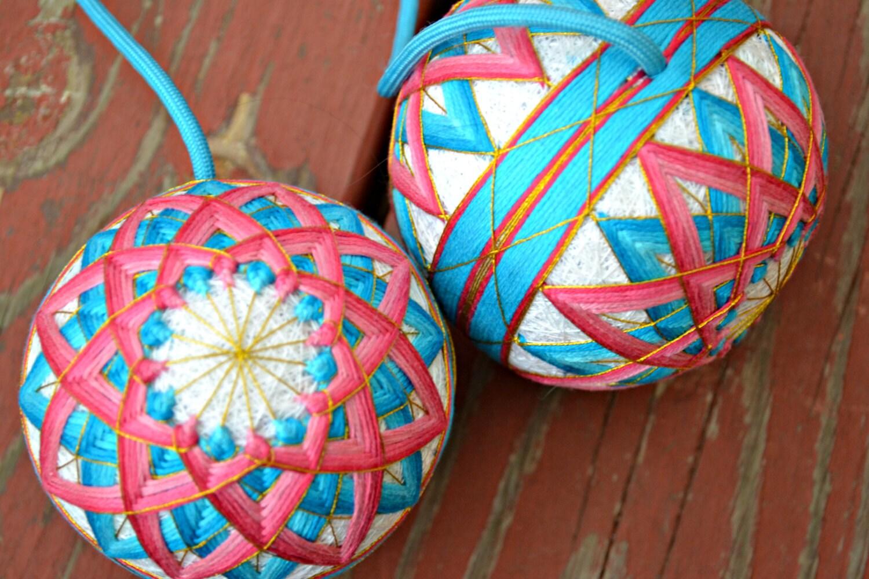 Lotus flower poi temari flow toys poi spinning flow arts poi zoom mightylinksfo