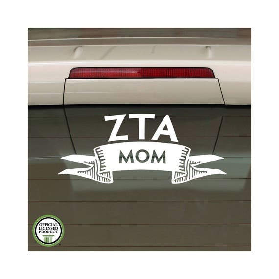 Zeta tau alpha decal zeta car decal sorority decal laptop