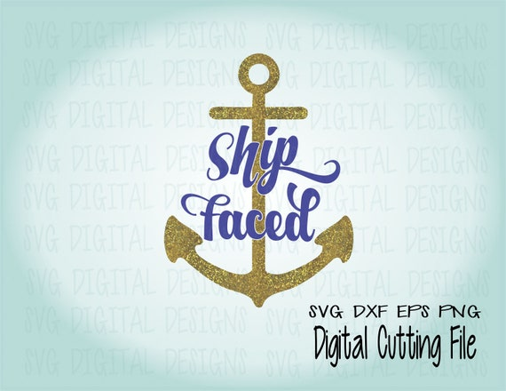 Ship Faced SVG Cruise Svg Summer SVG File Beach Quote/Saying Vacation Svg  Cut Files Great For Silhouette/Cricut Svg Dxf Eps Png Vinyl Design From ...