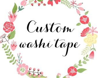 Custom Washi Tape, Wholesale Washi Tape 600 Rolls Deposit