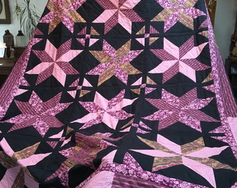 Dashing Stars Queen-size Quilt