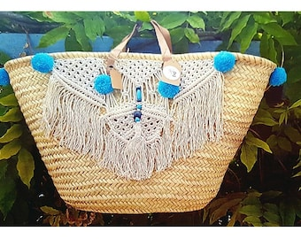 Tassel Beach basket