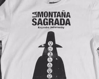 Alejandro Jodorowsky Holy Mountain T shirt ..The Alchemist