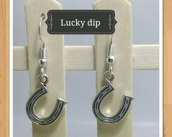 LUCKY HORSE SHOE earrings