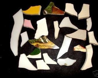 Mosaic Tiles, Shoes, Shoes, Stockings Broken China Plate Tessera Vintage Mosaic  Tiles!