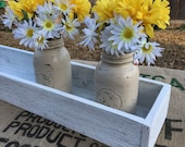"""Items similar to 30"""" Rustic Pallet Wood Box Centerpiece ..."""