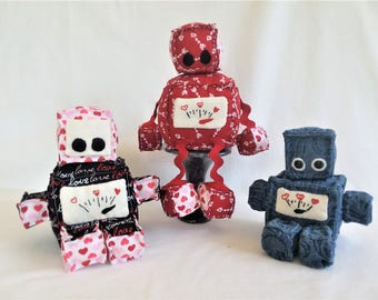 Love Fueled Robot stuffed toys