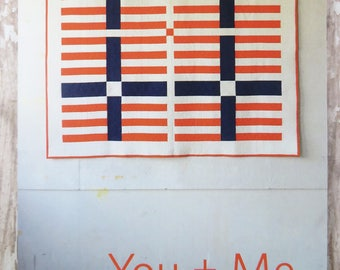 You + Me Quilt Pattern - Heather Jones - HJ003